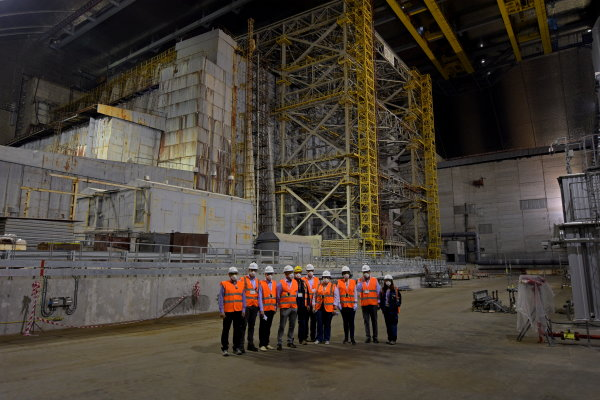 On 30 May representatives of Ignalina NPP and Ministry of Energy visited Chernobyl NPP